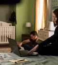 Pictured: (l-r) Ryan Eggold as Tom Keen, Megan Boone as Elizabeth Keen -- (Photo By: David Giesbrecht/NBC)