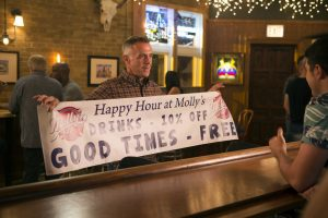 """CHICAGO FIRE -- """"Scorched Earth"""" Episode 503 -- Pictured: David Eigenberg as Christopher Hermann -- (Photo by: Parrish Lewis/NBC)"""