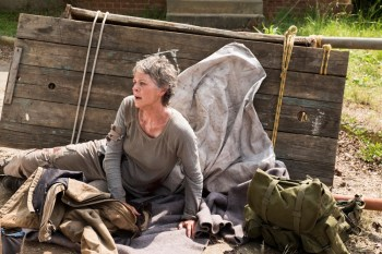Melissa McBride as Carol Peletier- The Walking Dead _ Season 7, Episode 3 - Photo Credit: Gene Page/AMC