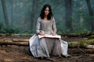 "TIMELESS -- ""Stranded"" Episode 106 -- Pictured: Abigail Spencer as Lucy Preston -- (Photo by: Sergei Bachlakov/NBC)"