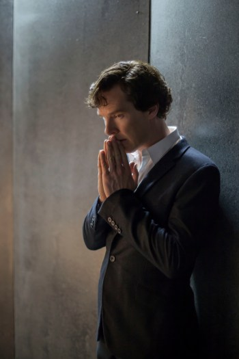 Picture Shows: Sherlock Holmes (BENEDICT CUMBERBATCH) - (C) Hartswood Films - Photographer: Laurence Cendrowicz