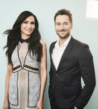 "Pictured: (l-r) Famke Janssen, Ryan Eggold, ""The Blacklist: Redemption"" -- (Photo by: Maarten de Boer/NBCUniversal)"