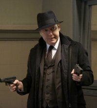 "Pictured: James Spader and Raymond ""Red"" Reddington -- (Photo by: Will Hart/NBC)"