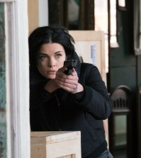 "BLINDSPOT -- ""Draw O Ceaser, Erase A Coward"" Episode 215 --  Pictured: Jaimie Alexander as Jane Doe -- (Photo by: Barbara Nitke/NBC)"