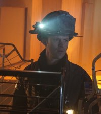"""CHICAGO FIRE -- """"An Agent Of The Machine"""" Episode 512 -- Pictured: Jesse Spencer as Matthew Casey -- (Photo by: Elizabeth Morris/NBC)"""