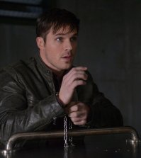 "TIMELESS -- ""The Lost Generation"" Episode 113 -- Pictured: Matt Lanter as Wyatt Logan -- (Photo by: Sergei Bachlakov/NBC)"