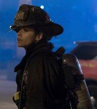 "CHICAGO FIRE -- ""Deathtrap"" Episode 516 -- Pictured: Miranda Rae Mayo as Stella Kidd -- (Photo by: Elizabeth Morris/NBC)"