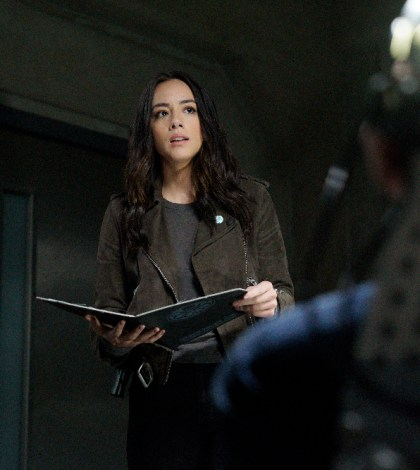 "MARVEL'S AGENTS OF S.H.I.E.L.D. - ""What If..."" - (ABC/Jennifer Clasen) CHLOE BENNET"