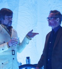 """LEGION -- """"Chapter 7"""" – Pictured: (l-r) Jemaine Clement as Oliver Bird, Bill Irwin as Cary Loudermilk. CR: Michelle Faye/FX"""