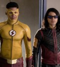 "The Flash -- "" Abra Kadabra"" -- Pictured (L-R): Keiynan Lonsdale as Wally West and Carlos Valdes as Cisco Ramon -- Photo: Jack Rowand/The CW"