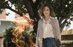 """SHADES OF BLUE -- """"Unforgiven"""" Episode 201 -- Pictured: Jennifer Lopez as Det. Harlee Santos -- (Photo by: Peter Kramer/NBC)"""
