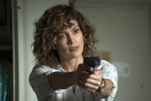"SHADES OF BLUE -- ""Sweet Caroline"" Episode 205 -- Pictured: Jennifer Lopez as Harlee Santos -- (Photo by: Peter Kramer/NBC)"