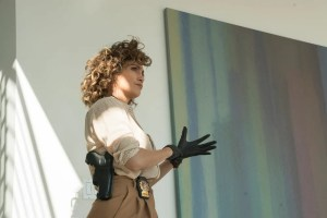 """SHADES OF BLUE -- """"Fracture"""" Episode 206 -- Pictured: Jennifer Lopez as Harlee Santos -- (Photo by: Peter Kramer/NBC)"""