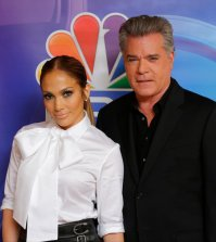 Pictured: (l-r) Jennifer Lopez, Talent/Executive Producer; Ray Liotta -- (Photo by: Paul Drinkwater/NBC)