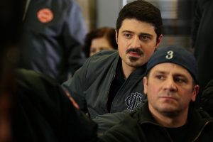 "CHICAGO FIRE -- ""Telling Her Goodbye"" Episode 515 -- Pictured: Yuri Sardarov as Brian ""Otis"" Zvonecek -- (Photo by: Elizabeth Morris/NBC)"