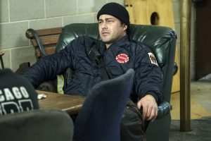 """CHICAGO FIRE -- """"Babies and Fools"""" Episode 517 -- Pictured: Taylor Kinney as Kelly Severide -- (Photo by: Elizabeth Morris/NBC)"""