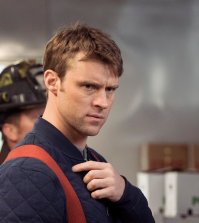 "CHICAGO FIRE -- ""Take A Knee"" Episode 518 -- Pictured: Jesse Spencer as Matthew Casey -- (Photo by: Elizabeth Morris/NBC)"