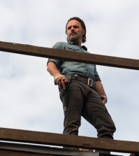 Andrew Lincoln as Rick Grimes- The Walking Dead Season 7, Episode 16 - Photo Credit: Gene Page/AMC
