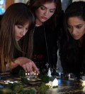 """PRETTY LITTLE LIARS - """"These Boots Are Made For Stalking"""" (Freeform/Eric McCandless) TROIAN BELLISARIO, LUCY HALE, SHAY MITCHELL"""