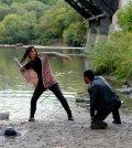 """TAKEN -- """"Leah"""" Episode 108 -- Pictured: Ayelet Zurer as Leah Wicker -- (Photo by: Panagiotis Pantazidis/NBC)"""