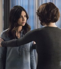 "Supergirl -- ""Alex"" Pictured (L-R): Floriana Lima as Maggie Sawyer and Chyler Leigh as Alex Danvers -- Photo: Dean Buscher/The CW"