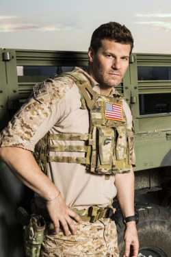 SEAL TEAM stars David Boreanaz (pictured), as Jason Hayes, in SEAL TEAM Photo: Cliff Lipson/CBS