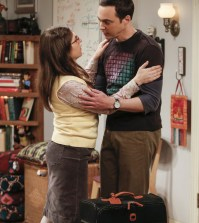 """""""The Gyroscopic Collapse"""" -- Pictured: Amy Farrah Fowler (Mayim Bialik) and Sheldon Cooper (Jim Parsons). Photo: Monty Brinton/CBS"""