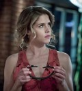 "Arrow -- ""Missing"" Pictured: Emily Bett Rickards as Felicity Smoak -- Photo: Katie Yu/The CW"