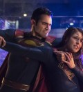 """Supergirl -- """"Nevertheless, She Persisted"""" -- Pictured (L-R): Tyler Hoechlin as Clark/Superman and Melissa Benoist as Kara/Supergirl -- Photo: Katie Yu/The CW"""