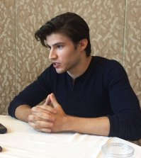 KRYPTON star Cameron Cuffe at San Diego Comic Con 2017. Photo Credit Pauline Perenack/ScreenSpy Magazine