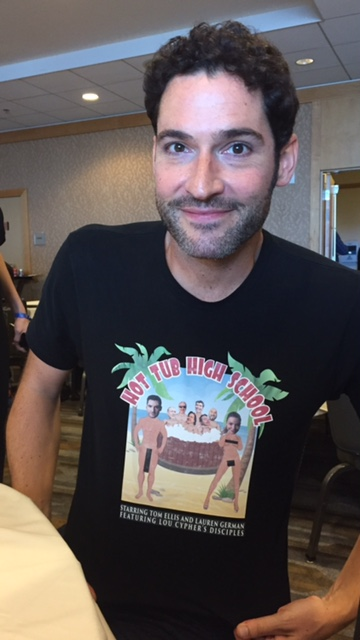Tom Ellis at Comic Con 2017. Photo Credit Pauline Perenack/ScreenSpy Magazine