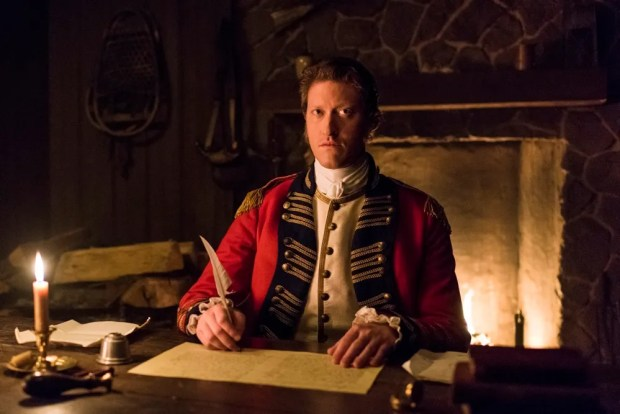 Samuel Roukin as Captain Simcoe - TURN: Washington's Spies _ Season 4, Episode 10 - Photo Credit: Antony Platt/AMC