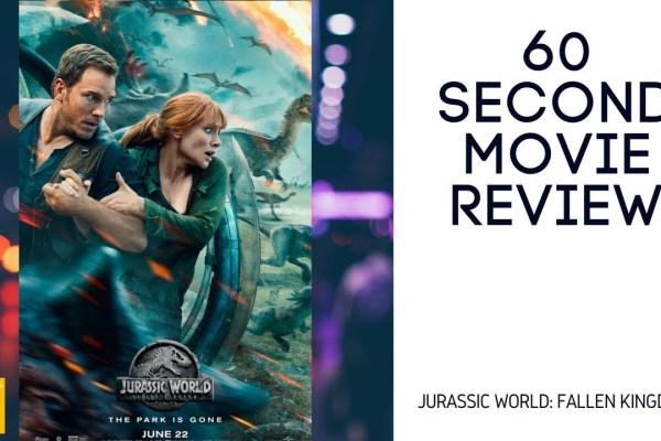 Jurassic World: Fallen Kingdom movie review video