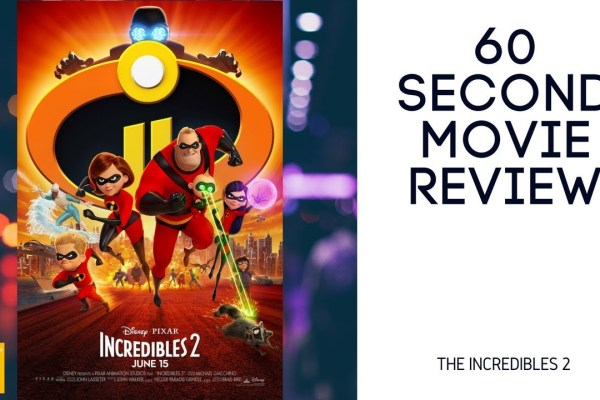 The Incredibles 2 movie review video