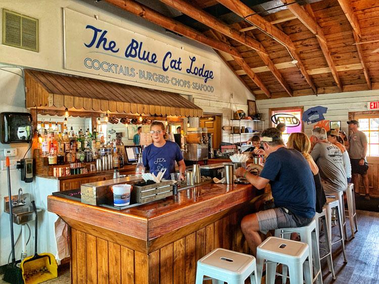 Blue Cat Lodge from Ozark