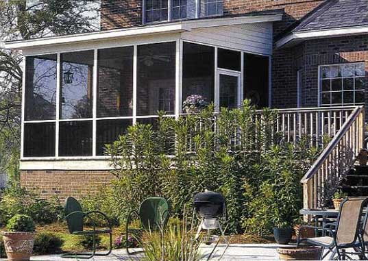 do it yourself diy screened in porch