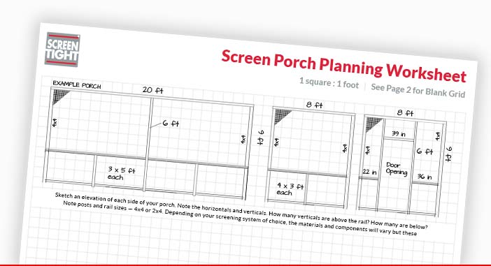 Installation Tips and How-To Guides for Screen Tight Products