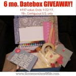 New Year Giveaway! Datebox At-Home Date Night Box GIVEAWAY!