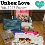 Unbox Love February 2017 Review