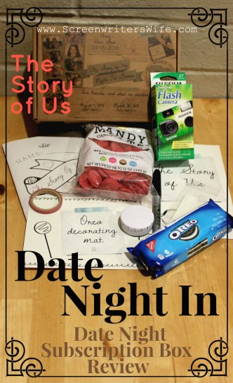 Date Night In Box Review - The Story of Us