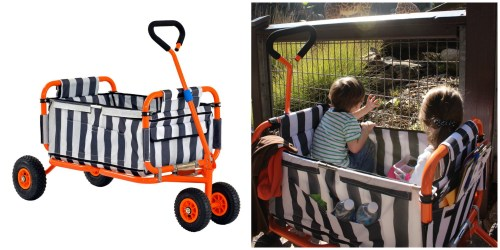 The Best Folding Kids Wagon You Can Push Like a Stroller