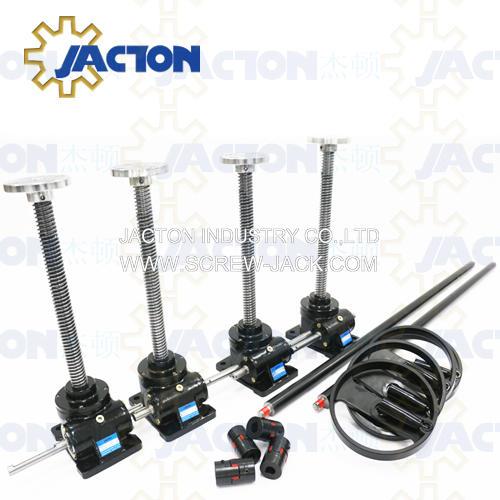 hand crank acme shaft systems,handwheel mechanical jacks