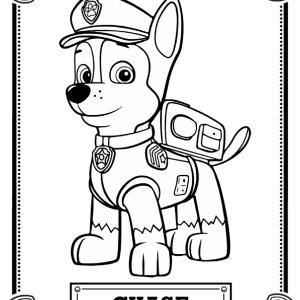 40 Unique PAW Patrol Coloring Pages