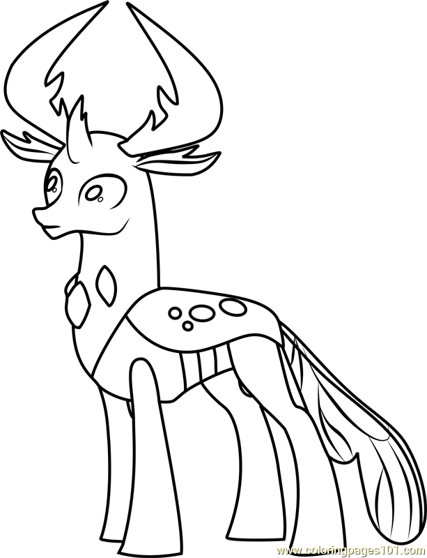 40 Printable My Little Pony Coloring Pages