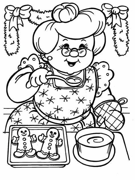 40 Printable Christmas Coloring Pages You've Never Seen Before