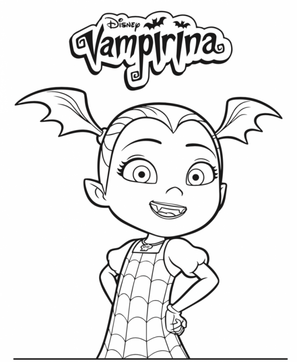 20 Vampirina Poppy And Friends Coloring Sheet Ideas And Designs