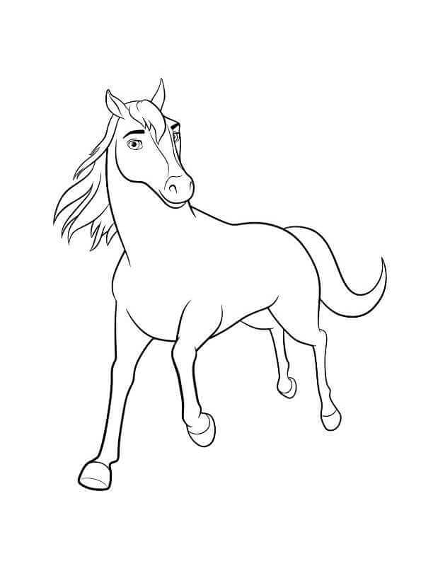 spirit stallion of the cimarron coloring pages # 32