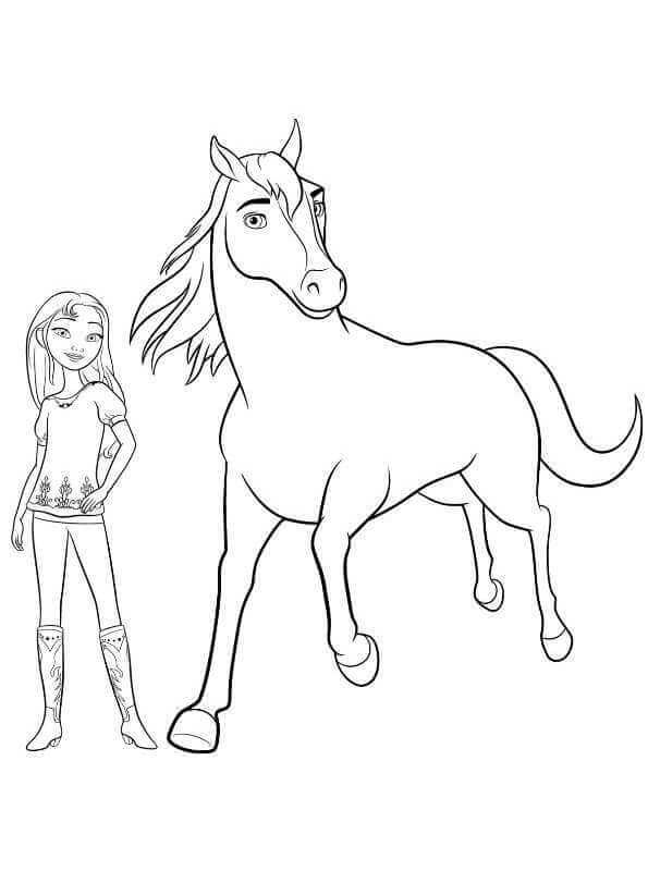15 Printable Spirit Riding Free Coloring Pages
