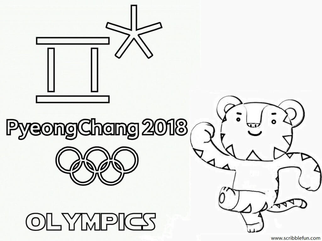 Free Printable Winter Olympics Coloring Pages