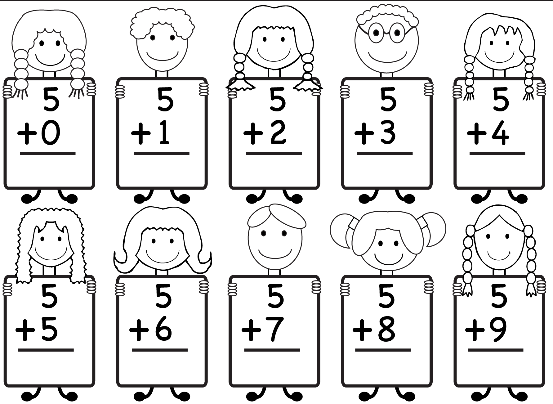 Free Printable Kindergarten Math Worksheets